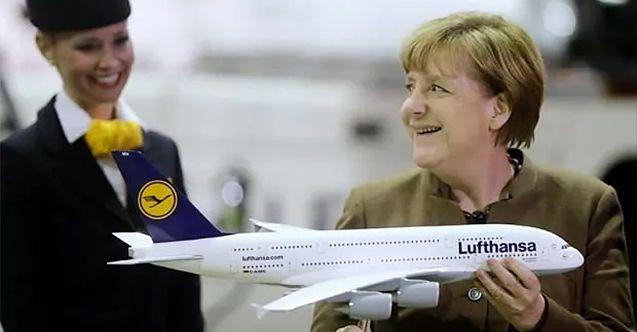 Merkel'den koronada çöken havacılığı kurtaracak adım! 9 milyar euro...