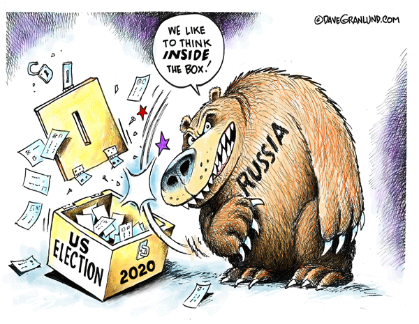 Dave Granlund – Editorial Cartoons and Illustrations » Russia and 2020 US  election