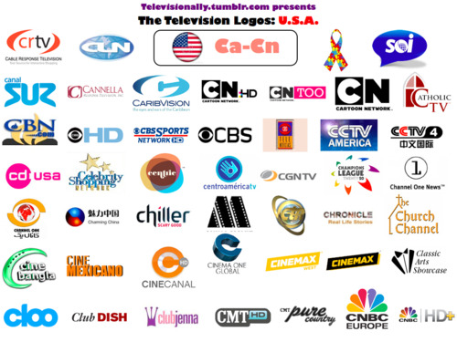 Televisionally — American Television Logos: the complete collection...