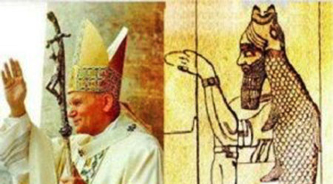 Why is The Pope's Mitre Shaped Like a Fish? - Auricmedia - Blogman's  Wonderland