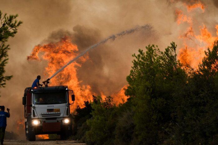 Χαρδαλιάς - 154 πυρκαγιές συνολικά σήμερα - Πάνω από 60 ενεργά μέτωπα - Τα πιο δύσκολα σημεία | in.gr