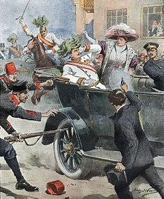 Δολοφονία του Αρχιδούκα Φραγκίσκου Φερδινάνδου της Αυστρίας - Βικιπαίδεια